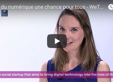 WeTechCare au salon VivaTech , le rendez-vous tech & startup