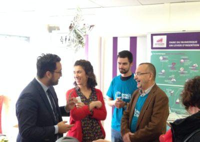 WeTechCare a présenté son rapport :  Inclusion numérique