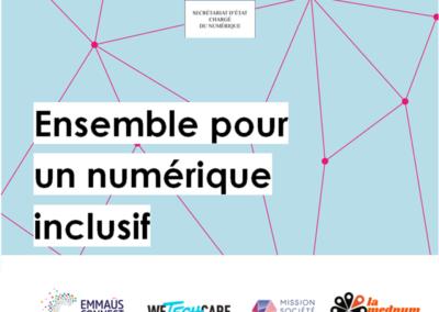 Lancement d'un plan national d'inclusion numérique