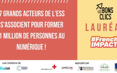 Les Bons Clics lauréat French Impact