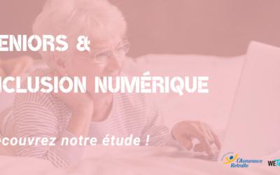 Publics seniors et inclusion numérique : l'étude WeTechCare pour l'Assurance retraite