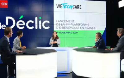 Retour sur le lancement du Déclic : la première plateforme de e-bénévolat en France !