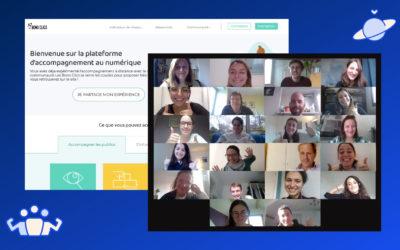 WeTechCare partage des bonnes pratiques sur l'accompagnement des publics à distance