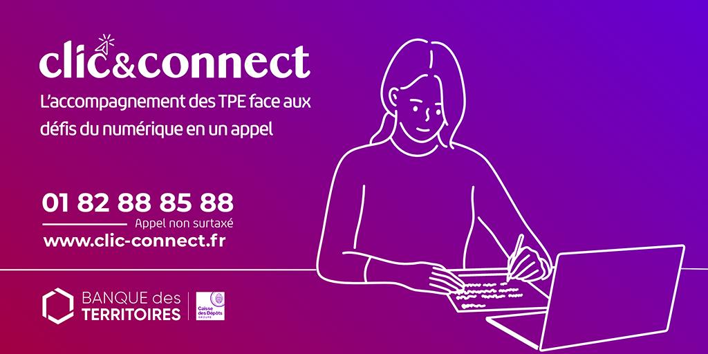 Clic Connect inclusion numérrique